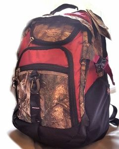 Rugged Women's Camo Pink Laptop Backpack
